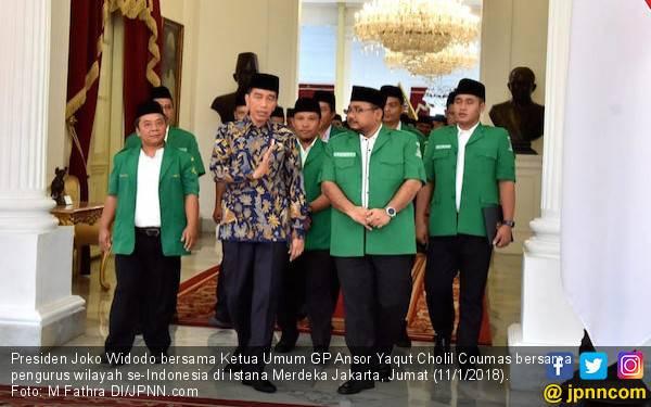 GP Ansor Tak Ingin Bangsa Ini Terpecah Gegara Pilpres - JPNN.com