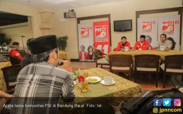 PSI Ajak Komunitas di Bandung Barat Terjun ke Politik - JPNN.com