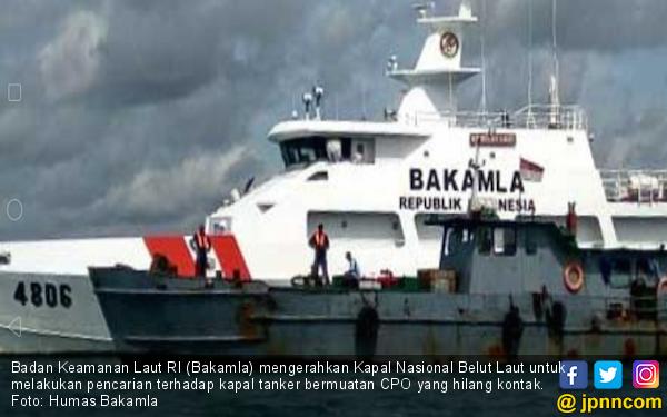 Pencarian Kapal Tanker Bermuatan CPO Masih Berlanjut - JPNN.com