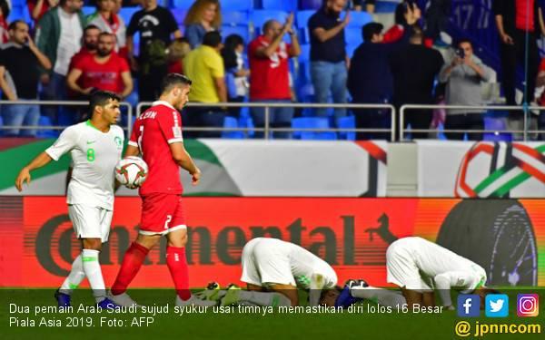 Arab Saudi jadi Tim Keenam Lolos 16 Besar Piala Asia 2019 - JPNN.com