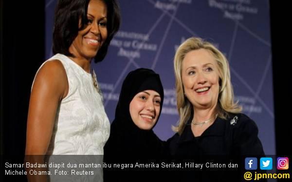 Samar Badawi Disiksa di Penjara Saudi - JPNN.com