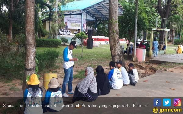 Relawan Ganti Presiden Batal Deklarasi di Tanjung Pinang - JPNN.com