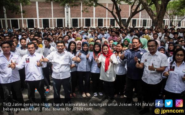 Alumni PTN Dukung Jokowi, Timses: Akal Sehat Ada di Nomor 01 - JPNN.com