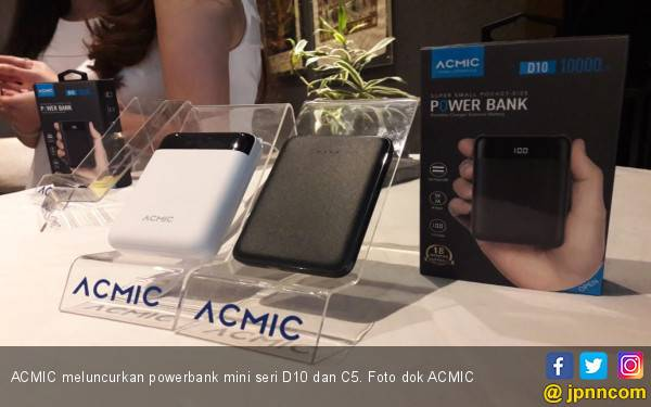 ACMIC Luncurkan Powerbank Mini Berteknologi Atom Cell - JPNN.com