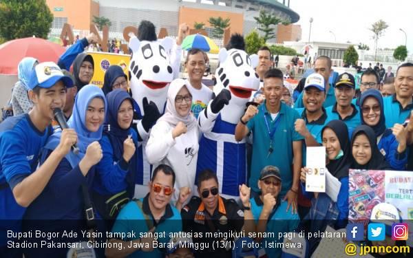Senam Bareng Superjo, Ade Yasin Tidak Langgar Peraturan - JPNN.com