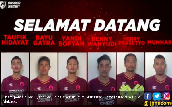 PSM Kenalkan Enam Pemain Baru, Empat dariMadura United - JPNN.com