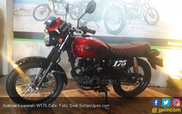 Tanggapan Builder Motor Jokowi Soal Kawasaki W175 Cafe - JPNN.com