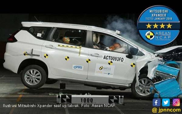 Uji Tabrak, Mitsubishi Raik Skor 4 Bintang NCAP - JPNN.com