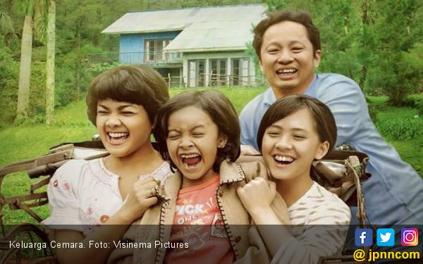 Keluarga Cemara 1 Juta Penonton, Produser Gelar Syukuran - JPNN.com