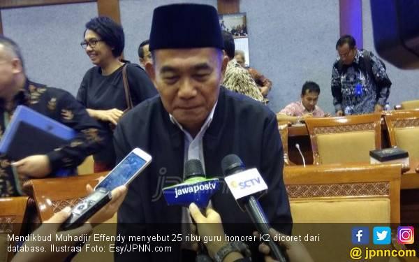 Ketahuan, 25 Ribu Guru Honorer K2 tak Ada di Sekolah - JPNN.com