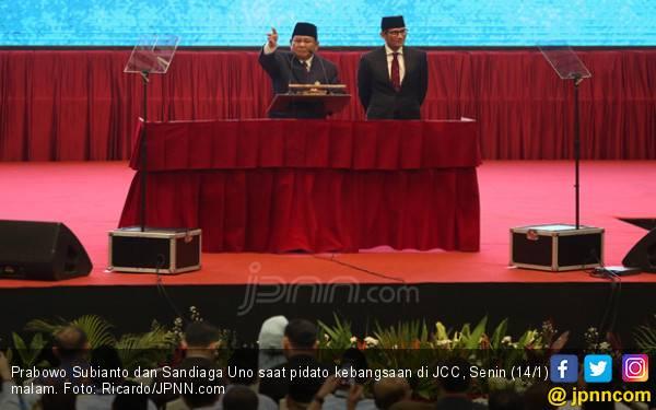 Pidato Kebangsaan: Prabowo Sebut Soeharto hingga SBY - JPNN.com
