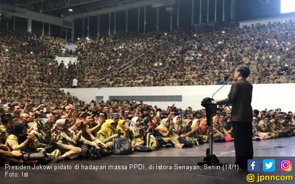 Inilah Jawaban Presiden Jokowi atas Tuntutan Perangkat Desa - JPNN.com