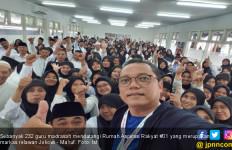 232 Guru Madrasah Curhat di Rumah Aspirasi Jokowi - Ma'ruf - JPNN.com