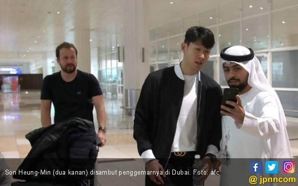 Piala Asia 2019: Son Heung-Min Mendarat di Dubai - JPNN.com