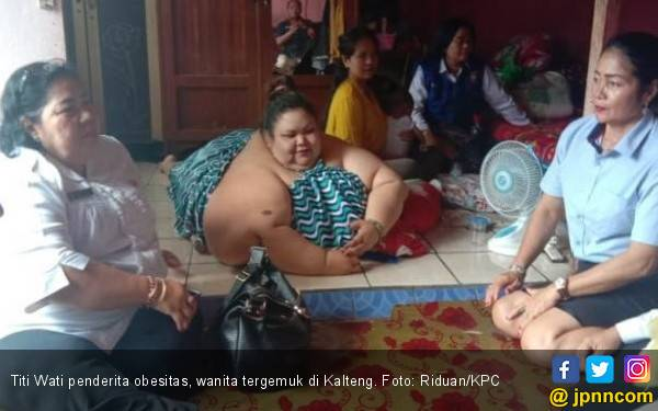 Pakar Gizi Ungkap Pemicu Obesitas yang Dialami Titi Wati - JPNN.com