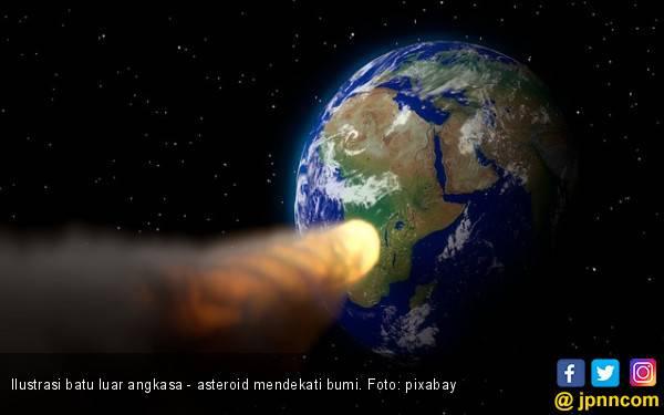 Siap-Siap, Bumi Akan Didekati 3 Asteroid Besar - JPNN.com