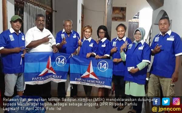 Relawan Siap Berjuang Demi Mervin Komber Terpilih jadi DPR - JPNN.com