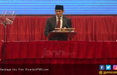 Kejadian Unik saat Sandiaga Uno Melintas di Kerumunan Pendukung Jokowi - JPNN.com