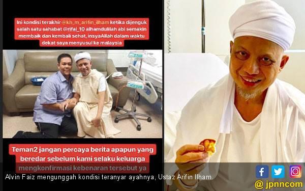 Kabar Ustaz Arifin Ilham Meninggal Cuma Hoaks, Nih Buktinya - JPNN.com