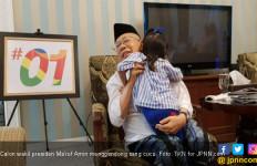 Ma'ruf Amin Masih Sempat Baca Koran dan Gendong Cucu - JPNN.com