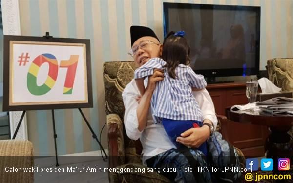 Didukung Tokoh Madura di Jakarta, Kiai Ma'ruf Amin Kian Pede Menang - JPNN.com