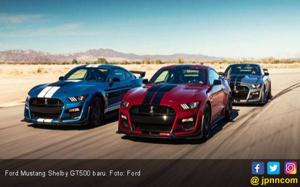 Mengungkap di Balik Kekuatan Ford Mustang Shelby GT500 - JPNN.com