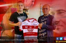 Gaet Rakic, Madura United Jadi Los Galacticos Indonesia - JPNN.com