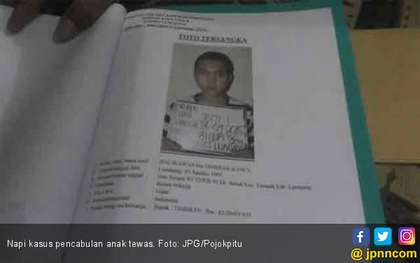 Napi Kasus Pencabulan Anak Mendadak Tewas - JPNN.com