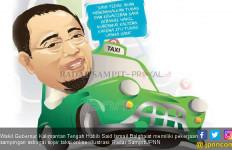 Wagub Kalteng Nyambi Jadi Sopir Taksi Online, Berapa Penghasilannya? - JPNN.com