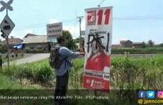 Ada Tulisan PKI di Alat Peraga Kampanye Caleg PSI - JPNN.com