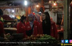 Perang Melawan Hoaks, PSI Blusukan di Pasar Bogor - JPNN.com