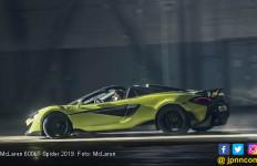 McLaren 600LT Spider Lebih Ringan 100 Kg dan Kian Buas - JPNN.com