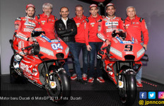 Ducati Kenalkan Motor Baru untuk MotoGP 2019, Merah Membara! - JPNN.com