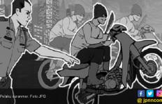 Wah, Nyali Besar Bro Berani Curi Motor Milik Polisi - JPNN.com