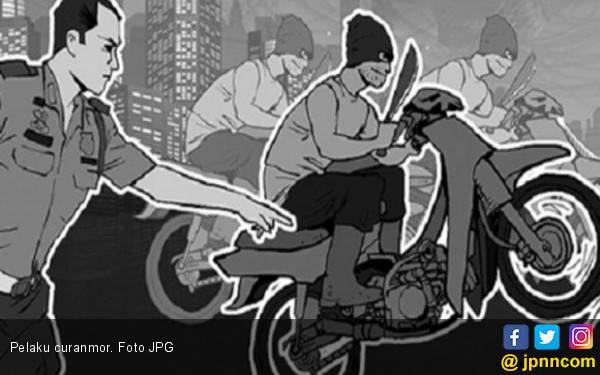 Ancaman Tembak di Tempat tak Mempan, Tiap Hari Ada Curanmor - JPNN.com