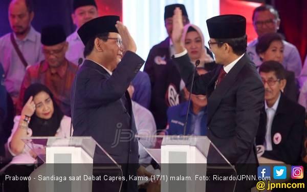 Sang Jenderal Sebut Prabowo – Sandi Sudah Menang, nih Angkanya - JPNN.com
