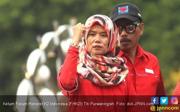 Titi Yakin Honorer K2 Sudah Mumpuni, Layak jadi PNS - JPNN.com