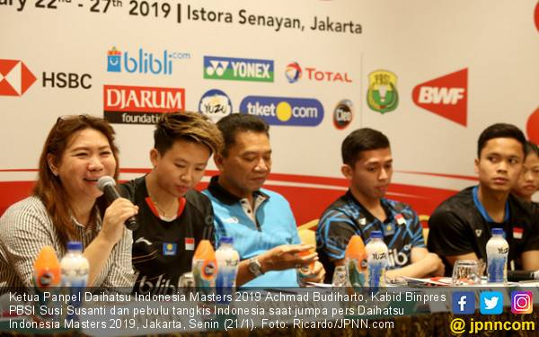 Banyak Pebulu Tangkis Batal Berlaga di Indonesia Masters 2019 - JPNN.com