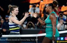 Serena Williams Butuh Waktu 1 Jam 47 Menit Kalahkan Simona Halep di 16 Besar Australian Open - JPNN.com