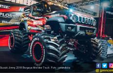 Suzuki Jimny 2018 Bergaya Monster Truck, Saingi El Toro Loco - JPNN.com
