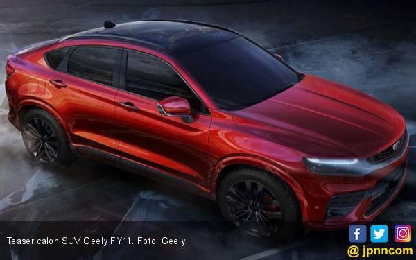 Calon SUV Pertama Geely Semakin Bikin Penasaran BMW X4 - JPNN.com