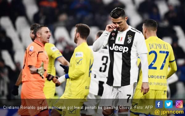 Cristiano Ronaldo Gagal Penalti, Juventus Masih di Puncak Klasemen Serie A - JPNN.com