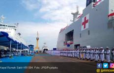 Kapal Rumah Sakit KRI 594 Siap Bantu Misi Kemanusiaan - JPNN.com