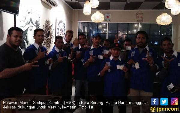 Relawan MSK di Kota Sorong Optimistis - JPNN.com