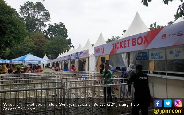 Hari Pertama Indonesia Masters 2019 Masih Sepi - JPNN.com