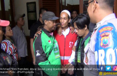 Driver GoJek : Motorku Ajur, Awakku Patah Tulang - JPNN.com