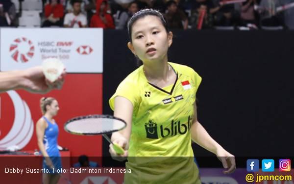 Debby Susanto Gantung Raket - JPNN.com