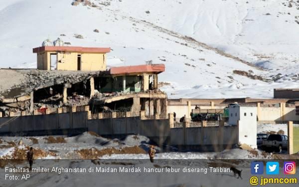 Brutal, Taliban Bantai Ratusan Orang di Markas Intel Afghanistan - JPNN.com