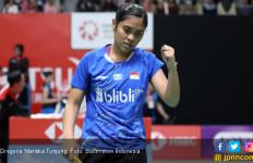 Gregoria Mariska Menang Mudah dari Tunggal Putri Inggris, Indonesia Memimpin 2-0 - JPNN.com