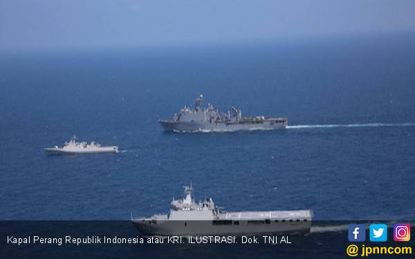 Membanggakan! Dua Kapal Perang TNI AL Mengemban Misi Besar di Lebanon - JPNN.com